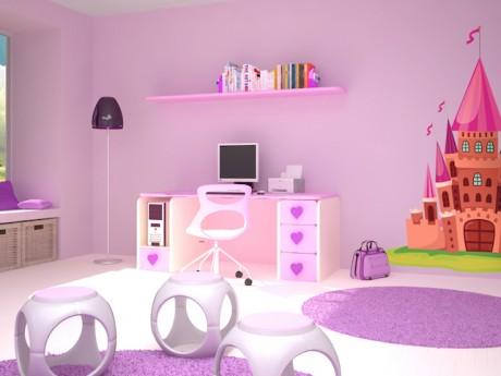 Habitación para princesas