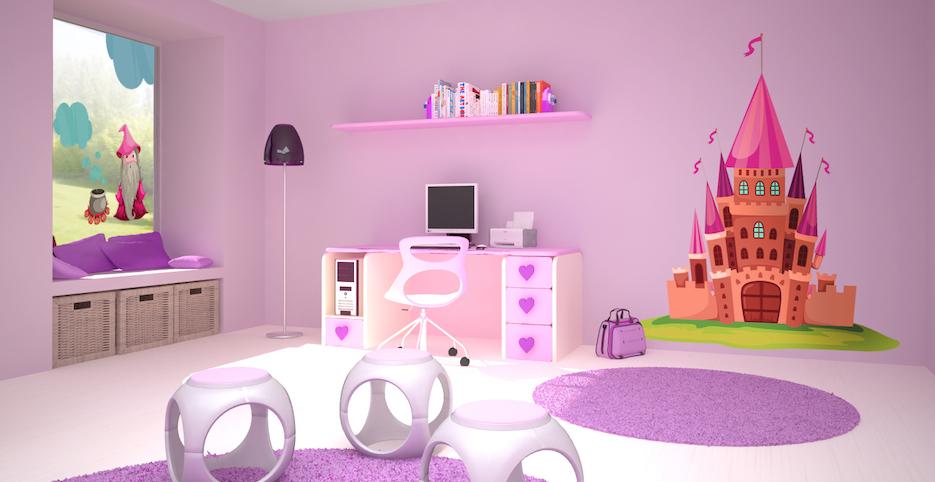 Decoracion habitacion ni a princesa - Decoracion habitacion ninas ...