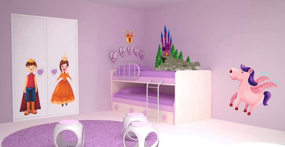 Decoracion habitacion princesa para niñas4
